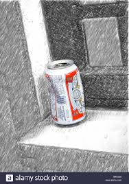 beer can cartoon crumpled beer can stock photos u0026 crumpled beer can stock images