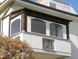 verande in plastica chiudere terrazzi e balconi con tende invernali idee tende da sole
