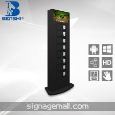 phone charger station restaurant cell phone charging station with lcd advertising player