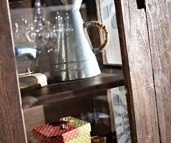 Wohnzimmerschrank Verschieben Schrank Guru Akazie Tabak 58x175cm Massiv 1 Tür Glasvitrine By