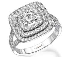 Square Wedding Rings by Square Diamond Rings Wedding Promise Diamond Engagement Rings