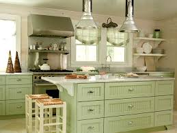 kitchen elegant green painted kitchen cabinets gray green