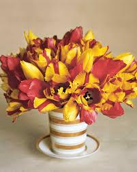 halloween floral centerpieces yellow flower arrangements martha stewart