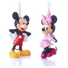 amazon com hallmark disney minnie bow tique and mickey mouse