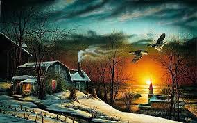 prints by terry redlin country