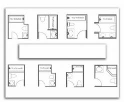 bathroom floor plans small 3 4 bathroom layout 2 small 3 4 bathroom floor plans small
