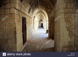 inside st george u0027s monastery near krak des chevaliers syria stock