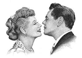 lucille ball and ricky ricardo i love lucy lucille ball desi arnaz ricky ricardo drawing