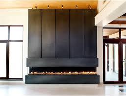 modern design horizontal fireplace ideas gallery blog fireplace
