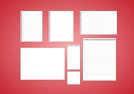 free note paper vector free vector stock graphics