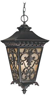 Outdoor Porch Ceiling Light Fixtures by Bientina Collection 23 1 4 High Outdoor Hanging Light Tuscan