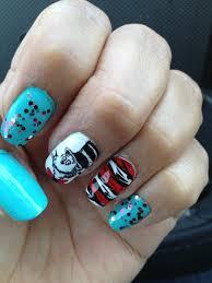 dr seuss nail art dr seuss nails pinterest cat nail art
