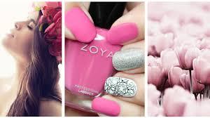 easy nail art for beginners easy diy girly nails youtube