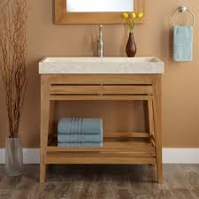 bathroom towel storage ideas recessed shelving beside bathtub