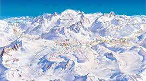 Turin Italy Map by Passo Tonale Piste Map Free Downloadable Piste Maps