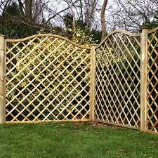 Fence Panels With Trellis Trellis Fence Panels Crafts Home