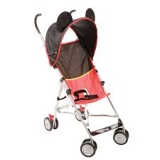 Kolcraft Umbrella Stroller With Canopy by The Mickey Mouse Umbrella Stroller Is Decked Out Like Your