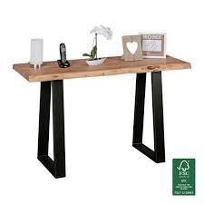 Schreibtisch Naturholz Schränke Von Finebuy Günstig Online Kaufen Bei Möbel U0026 Garten