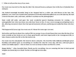 letters to mum mother u0027s day tributes from perthnow the sunday