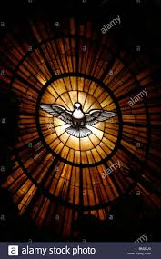 octagon stained glass window stained glass window in st peter u0027s basilica of holy spirit dove