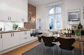 Modern Kitchen For Small Apartment Charming Small Studio Apartment With Spacious Kitchen