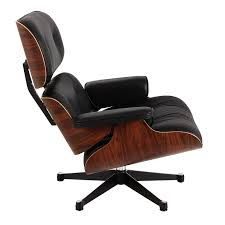 Vitra Eames Armchair Buy Vitra Eames Lounge Armchair Ottoman Black Pallisander