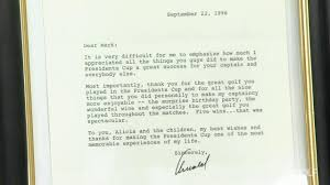 arnold palmer u0027s letters to players golf channel