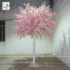 uvg 10ft white and pink factory direct artificial tree