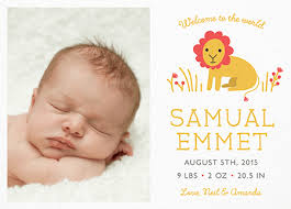 birth announcement custom birth announcements mailed for you postable