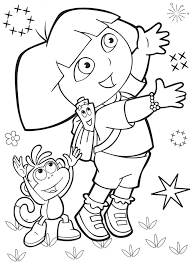 100 dora boots halloween coloring pages 28 dora