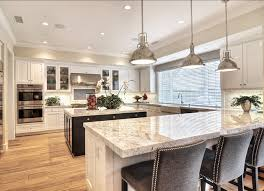 High End Kitchen Design Family Home With Coastal Transitional Interiors Home Bunch