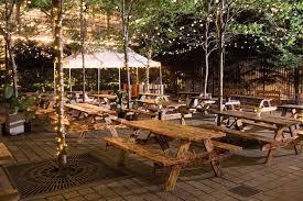 Beer Garden Tables by Visit Philly Named Uptown Beer Garden One Of The Top Summer Beer