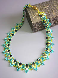 drop beads necklace images 25 best drop beads images bead jewelry beading jpg