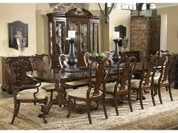 Dining Room Table And China Cabinet Belfort Signature Belmont Fredericksburg Rectangular Double