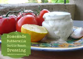 homemade buttermilk garlic ranch dressing the rising spoon