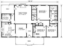 Rectangular House Design Ideas Rectangular House Plans 3 Bedroom 2 Bath