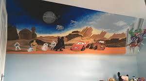 kids custom artwerk cars star wars avengers