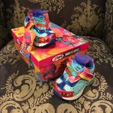 trolls light up shoes dreamworks other light up sneakers trolls two looks nwt nib poshmark