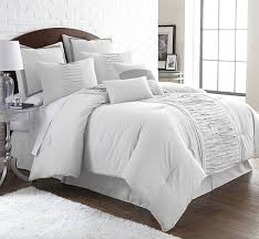 White Bed Set King Amazon Com Amrapur Overseas Marilyn 8 Piece Ruffled Comforter