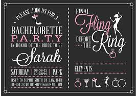 bachelorette party invitation wording templates graduation party invitations sle together with