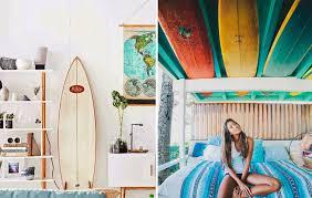 chambre surf 20 intéressantes façons d utiliser une planche de surf comme