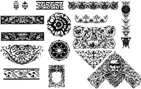 30 free ornaments frames borders vector resources