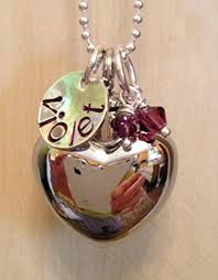 jewelry for ashes of loved one custom cremation jewelry unique silver heart cremation urn for