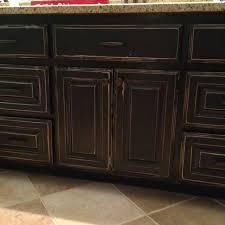 distressed black cabinets cabinets pinterest distressed bathroom