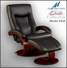 mac motion leather recliner chair model 54 b