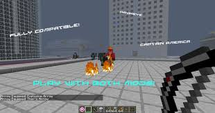 America Minecraft Map by Captain America Mod The Minecraft Initiative 2 Minecraft Mod