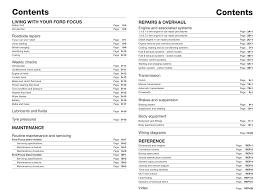 ford focus petrol u0026 diesel oct 01 05 haynes repair manual