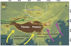 Tibetan Plateau Map Dominant 100 000 Year Precipitation Cyclicity In A Late Miocene