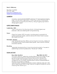 Leadership Resume Template How To Write A Budget Variance Report Guest Service Resume