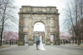 wedding arches glasgow st in the square wedding the gibsons